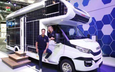 E.home : Le camping-car qui roule au solaire